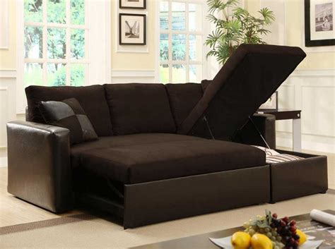 Sectional Sofas With Sleepers For Small Spaces Sleeper Sectional Sofa For Small Spaces Tourdecarroll