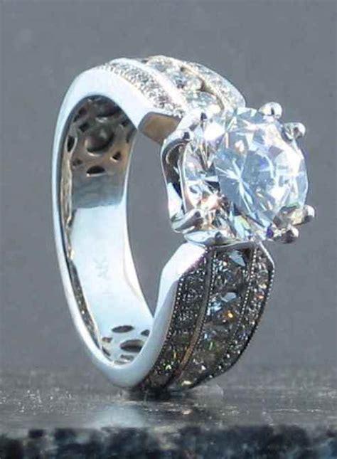 big engagement rings cheap