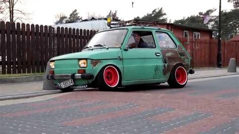 Fiat 126p Maluch+Gleba vs Próg Zwalniający - YouTube Gleba
