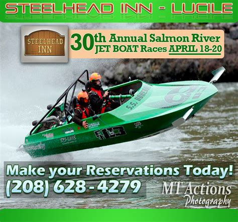 idaho boat races 30th annual salmon river jet boat races