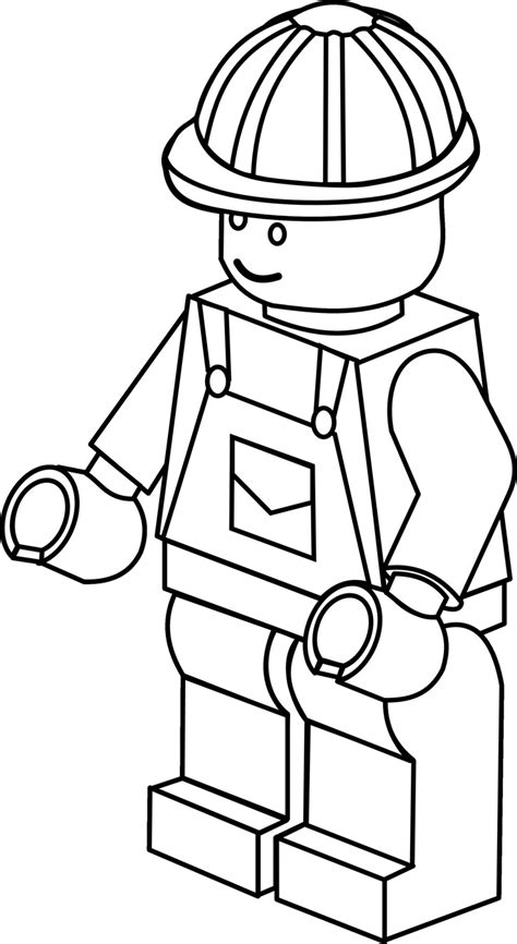 Lego Figure Coloring Pages more complex lego figure colouring sheet colouring pages lego figures lego and