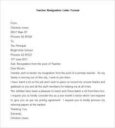 Format Of Resignation Letters by Resignation Letter Template 25 Free Word Pdf Documents Free Premium Templates