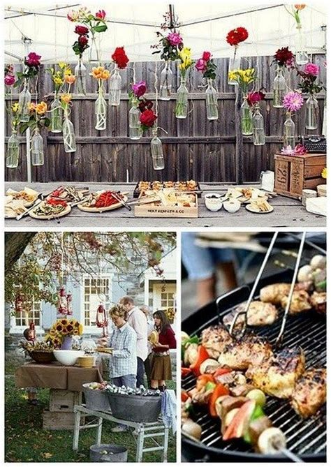 Engagement Bbq Decorations by Top 25 Rustic Barbecue Bbq Wedding Ideas Barbeque