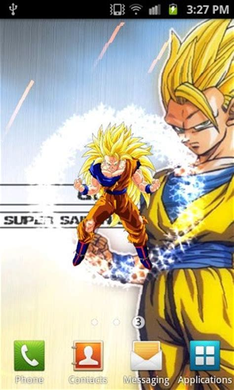 dragon ball live wallpaper pc download dragon ball z live wallpaper for android by dark