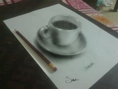 Sketches 3d Easy by Pencil Drawing 3d By Sks007 On Deviantart