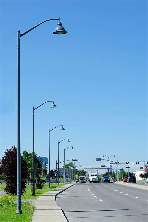 decorative light poles valmont structures canada decorative light poles and l
