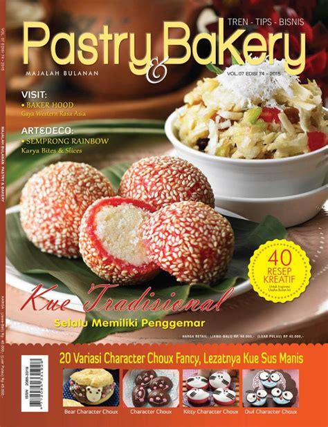 Majalah Pastry jual majalah pastry bakery ed 74 september 2015