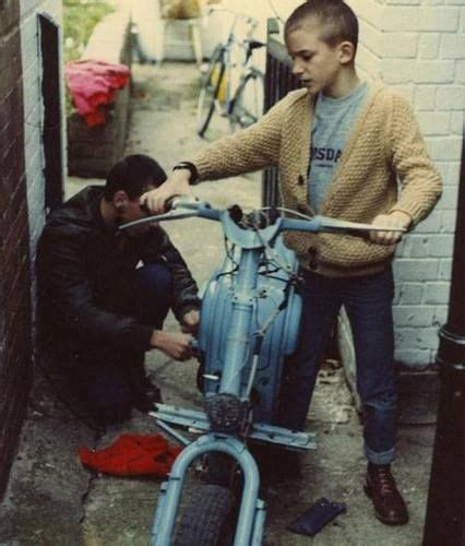Quicksilver Ad 8517 Brown Leather early skinhead lambretta vespa scooters skinheads mods