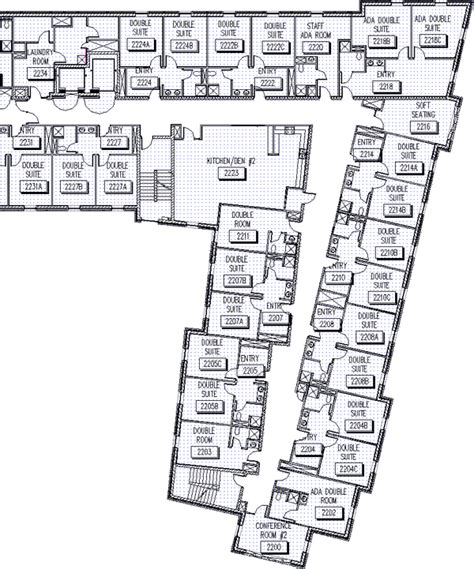 department floor plans gilman house floor plans department of residence housing