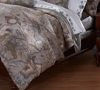 map bedding antique map bedding bath andy stuff pinterest