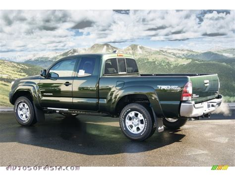 Toyota Tacoma Spruce Mica 2012 Toyota Tacoma V6 Trd Access Cab 4x4 In Spruce Green