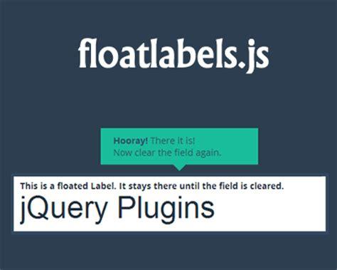 html input pattern float floatlabels js jquery plugin for float label pattern