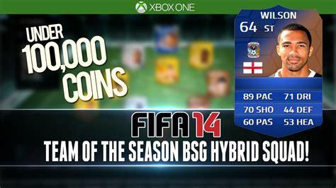 fifa 14 epic tots bsg hybrid for 100k squad