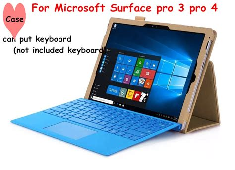 Tablet Microsoft Surface Pro 4 aliexpress buy accept wholesale flip cover for microsoft surface pro 3 pro 4 tablet