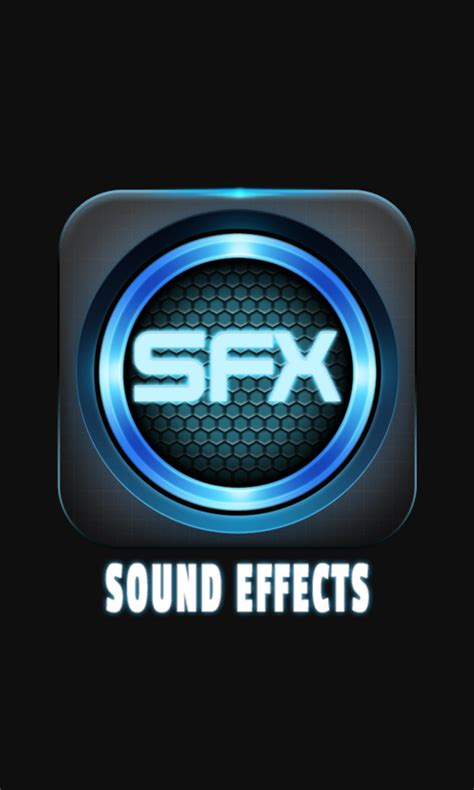 sound effects sound effects app free android app android freeware