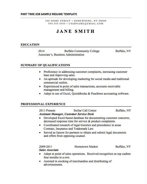 Job Resume Examples by 21 Basic Resumes Examples For Students Internships