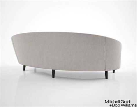 vera sofa mitchell gold and bob williams vera sofa 3d model max obj
