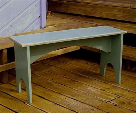 plans and patterns for shaker style bench by buckcreekfurnishings