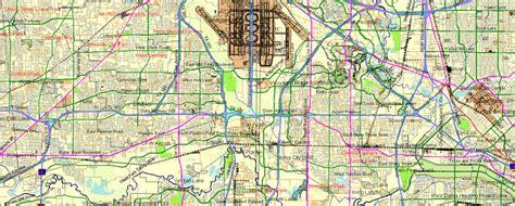 dallas texas usa map dallas fort worth printable atlas 25 parts vector map editable adobe illustrator