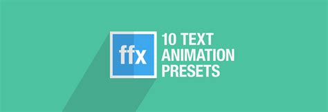 layout animation presets 10 free after effects text animation presets motion array