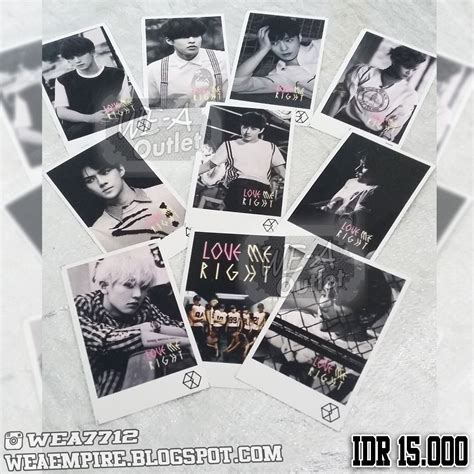 download mp3 exo k love me right photocard photopack kpop exo love me right we a outlet
