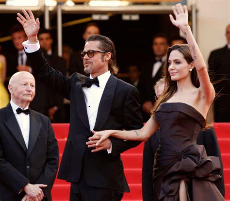 Brad Pitt Angelina Jolie At The Tree Of Life Premiere In La 86065   angelina jolie brad pitt cannes 2011 tree of life 3