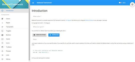 google design framework material framework