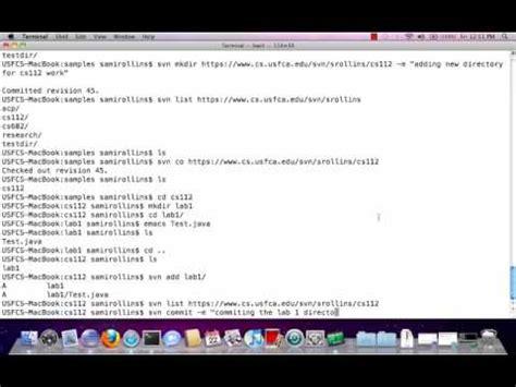 youtube tutorial basec basic svn tutorial youtube
