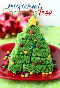 christmas rice krispie treat ideas