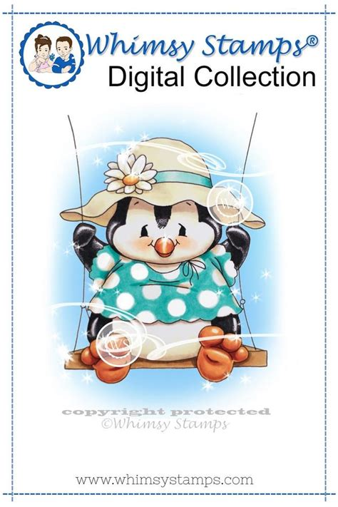 penguin swing scrappin n happy day 1 whimsy sts july digital release