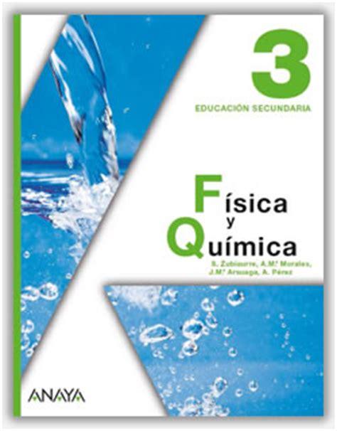 libro fyq 4 eso sm pdf anayadigital fisica y quimica 3 eso