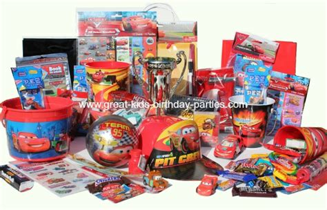 Kids Birthday Giveaways - disney cars party favors