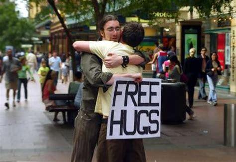 free hug guy free hugs campaign