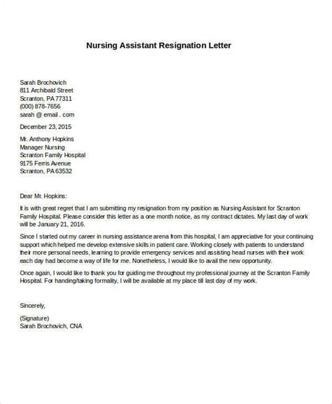 30 formal resignation letter sles sle templates