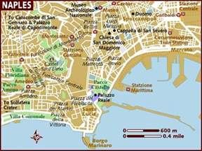 Naples Italy Map by Naples Map