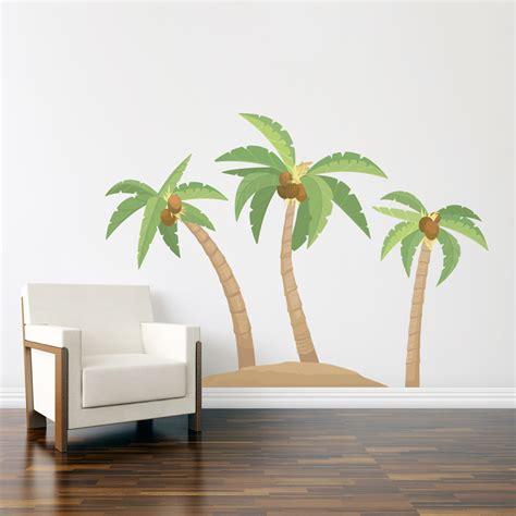 Palm Tree Wall Sticker palm tree wall decals roselawnlutheran