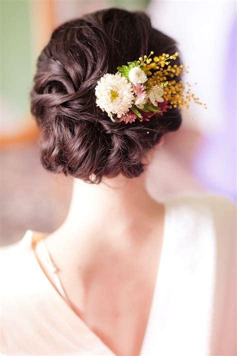 78 ideas about bridal hair flowers on bohemian wedding hair flower crown hairstyle