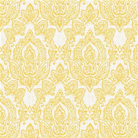 yellow and white upholstery fabric white and yellow vintage damask fabric by the yard