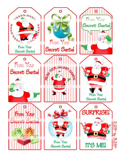 free printable secret santa gift tags new calendar search results for secret santa tags to print calendar
