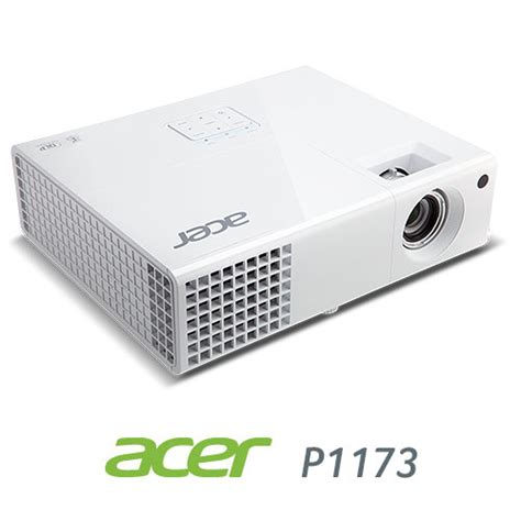 Projector Acer P1173 acer p1173 svga dlp projector 3000 lumens 3d white electronics