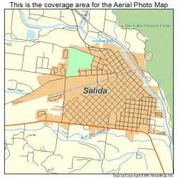 where is salida colorado on the map aerial photography map of salida co colorado