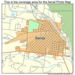 salida colorado map aerial photography map of salida co colorado