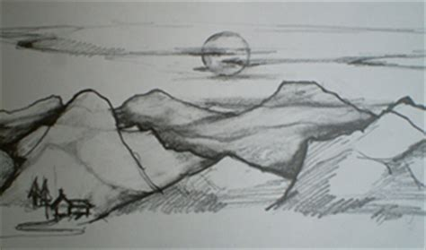 how to draw landscape drawing landscapes tutorial