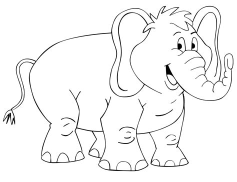 mewarnai hewan gajah belajar mewarnai gambar untuk anak anak the knownledge