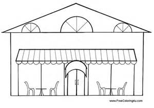 Restaurant Coloring Sheets 11 Pics Of Free Pages Or  sketch template