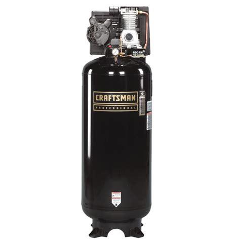 Craftsman Professional 60 gal. Air Compressor, 3.2 hp, Vertical Tank, Oillube Pump   Tools   Air