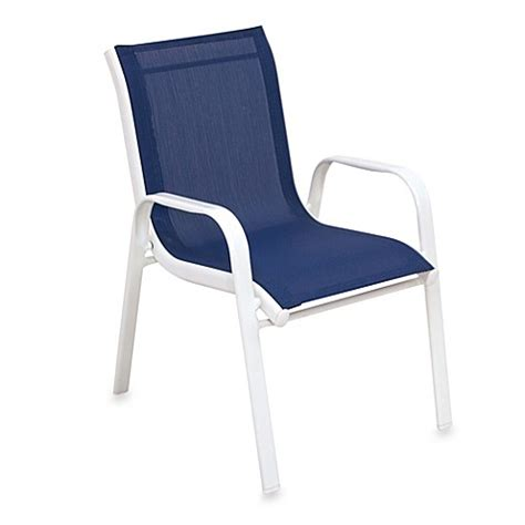 Stackable Deck Chairs by Stacking Patio Chair Bed Bath Beyond