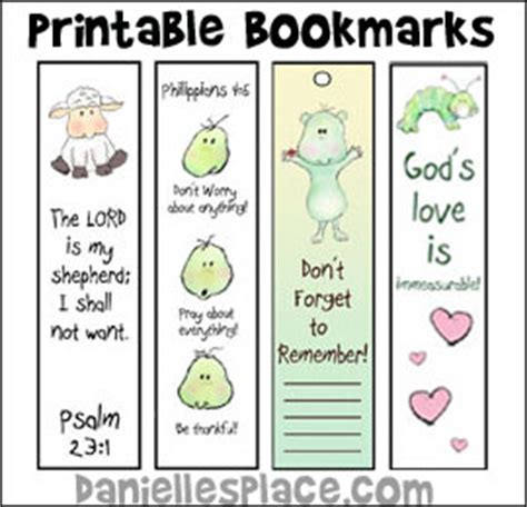 printable bookmarks for kindergarten printable bookmarks for sunday school from www
