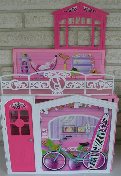 fold out doll house barbie doll fold out doll house structures furniture