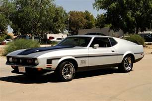 ford mustang 1971 mach 1 1971 ford mustang mach 1 fastback 206754